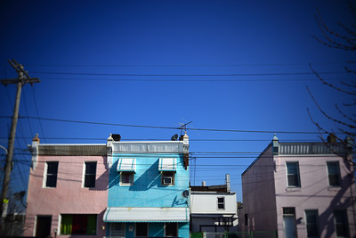Hers, His & Hers Houses---Philadelphia, PA