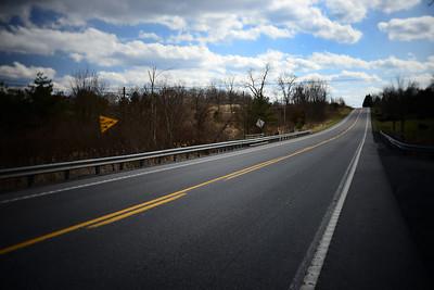 Long, Empty Road---Bedford, PA