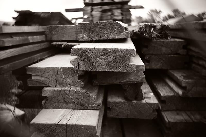 Wood---Abandoned Factory---Scranton, PA