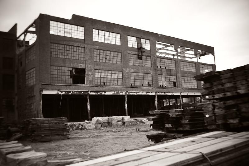 Deconstruction---Abandoned Factory---Scranton, PA