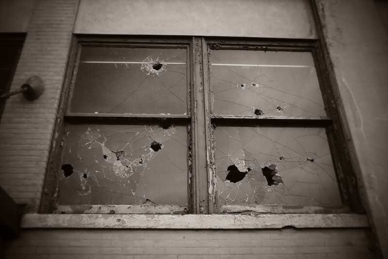 Windows---Abandoned Factory---Scranton, PA