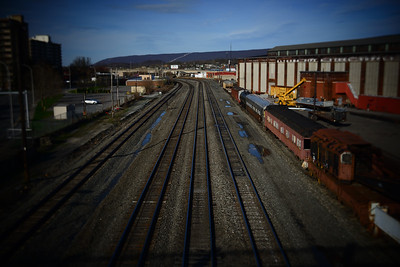Train Yard---Altoona, PA