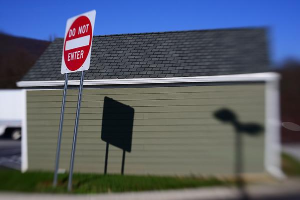 Sign & Shadows---Newburg, PA