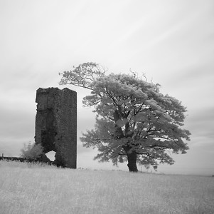 Wreaths Tower, Study 2, Galloway, Scotland. 2016