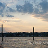 Here's the late evening view at William's Beach in Mystic, CT.