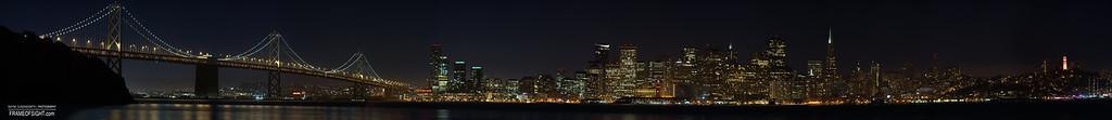 San Francisco & the Bay Bridge