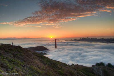 San Francisco Sunrise 3 10/6/2012 - Fleet Week  And then the sky. It just kept on coming...