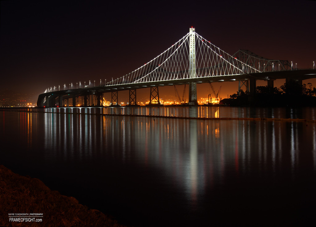 The New Bay Bridge - Treasure Island to Oakland