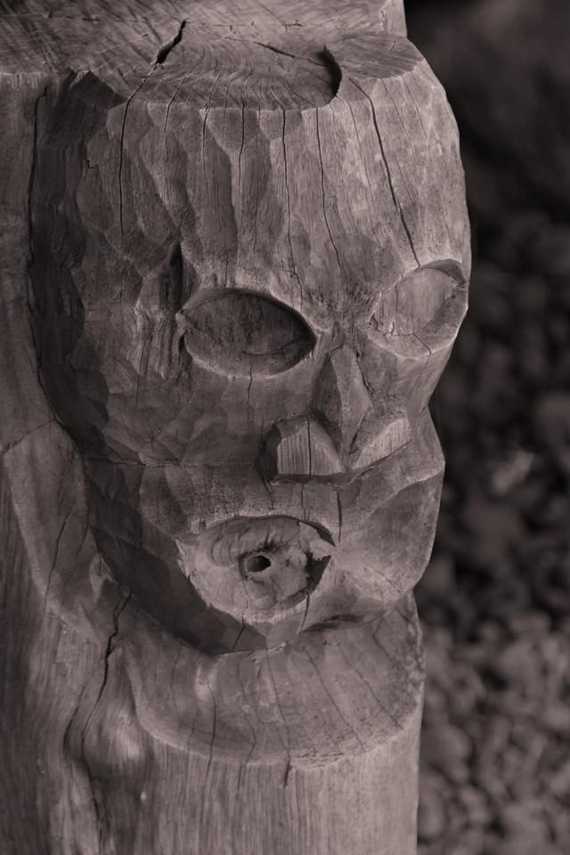 """""""Tiki""""<br /> (Pu'uhonua o Honaunau)"""
