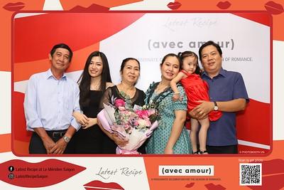 Latest Recipe, Le Meriden Saigon | Valentine's Buffet instant print photobooth | Chụp hình lấy liền sự kiện tại TP Hồ Chí Minh | Photobooth Saigon