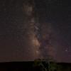 Milky Way, Carmel Valley Road, CA.