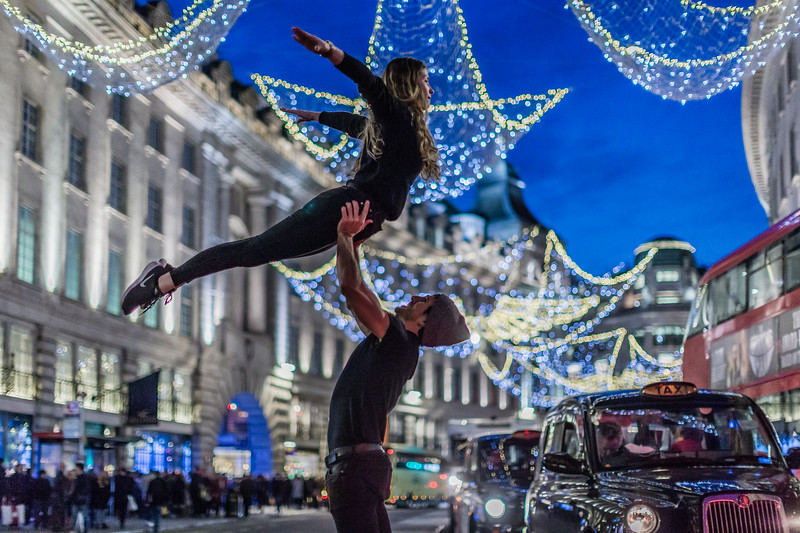 Flying On Regent Street