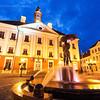 Kissing Students Fountain in Tartu