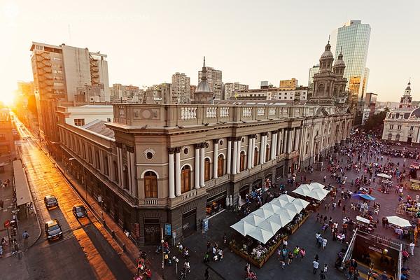 Plaza Mayor - Santiago, Chile