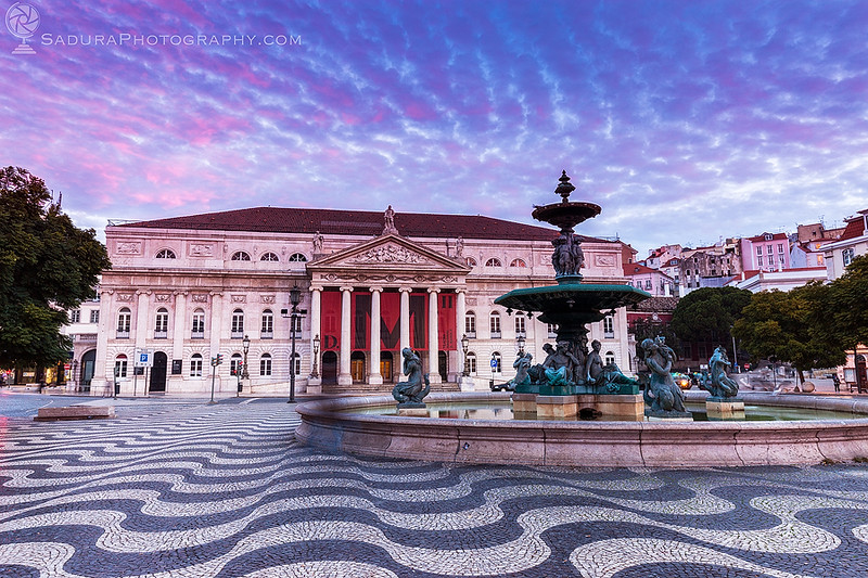 D. Maria II National Theatre in Lisbon