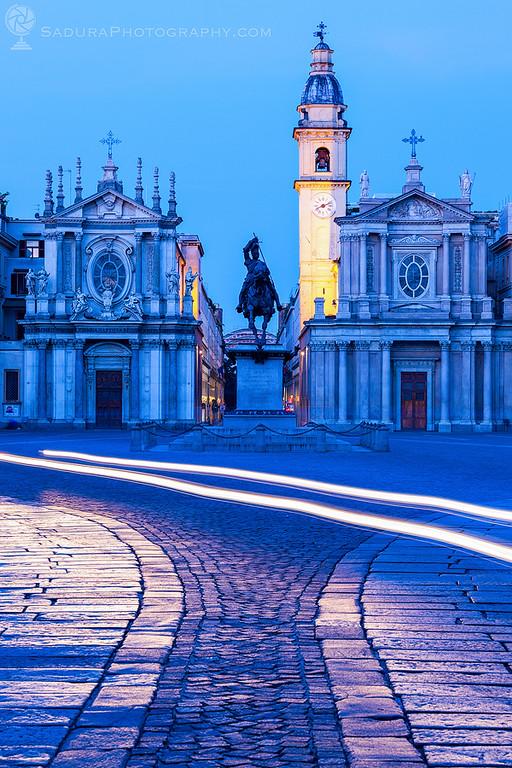San Carlo and Santa Cristina on Piazza San Carlo