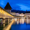 Twilight in Lucerne