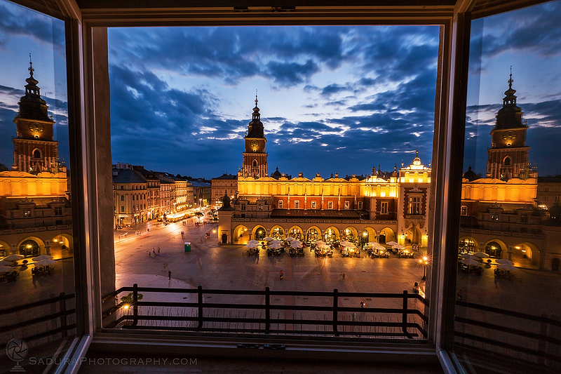 The Window to Krakow