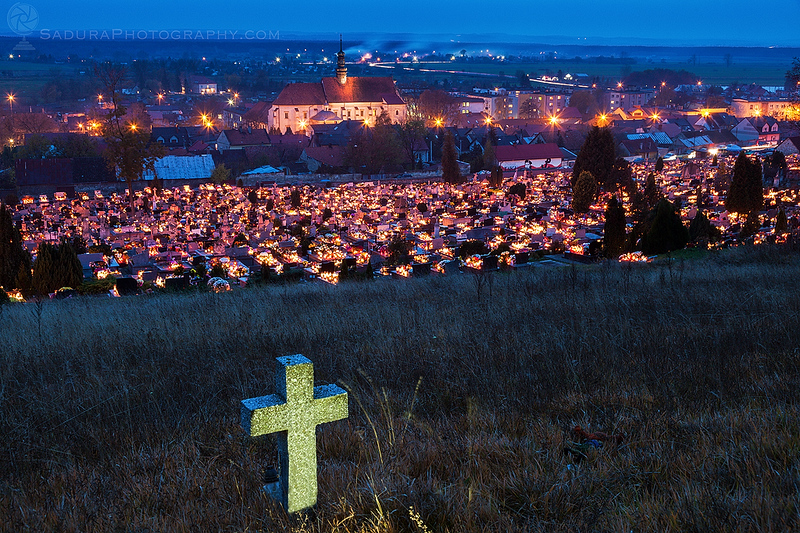 All Saints Day in Pinczow