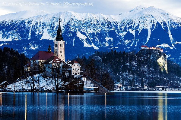 Church of the Assumption and Bled Castle