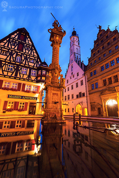 Market Square in Rothenburg