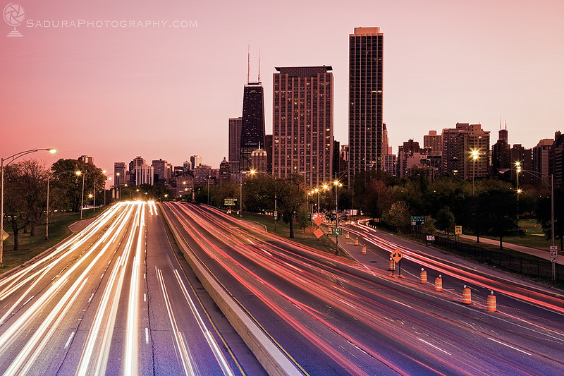 Lake Shore Drive in Chicago