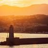 Nice Lighthouse at sunset