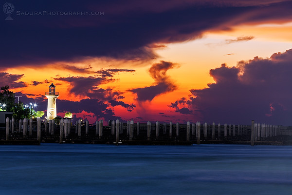 Lighthouse in Pattaya