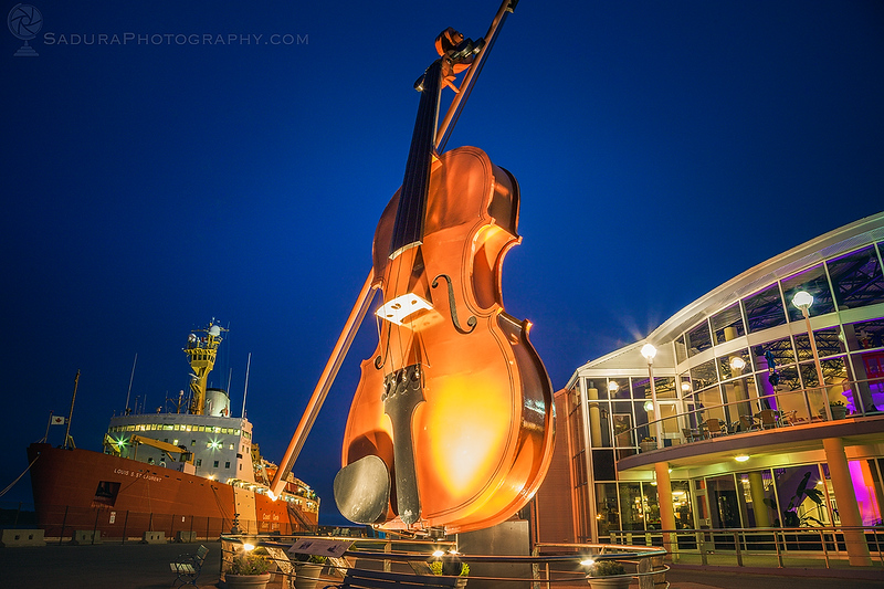 🇨🇦 World's Largest Fiddle in Sydney