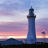 Green Cape Lighthouse at sunrise