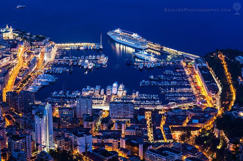 Monaco - Monte Carlo Harbor