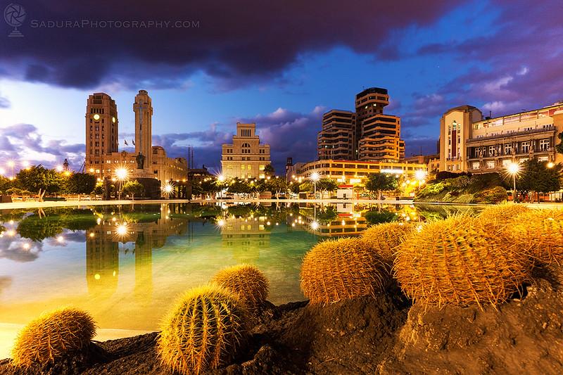 Santa Cruz de Tenerife skyline