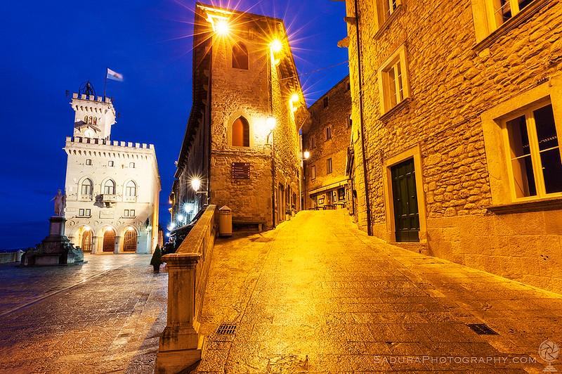 City of San Marino town hall - Palazzo Pubblico