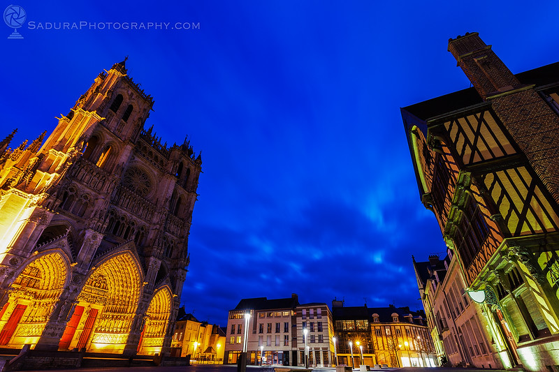 Place Notre-Dame in Amiens