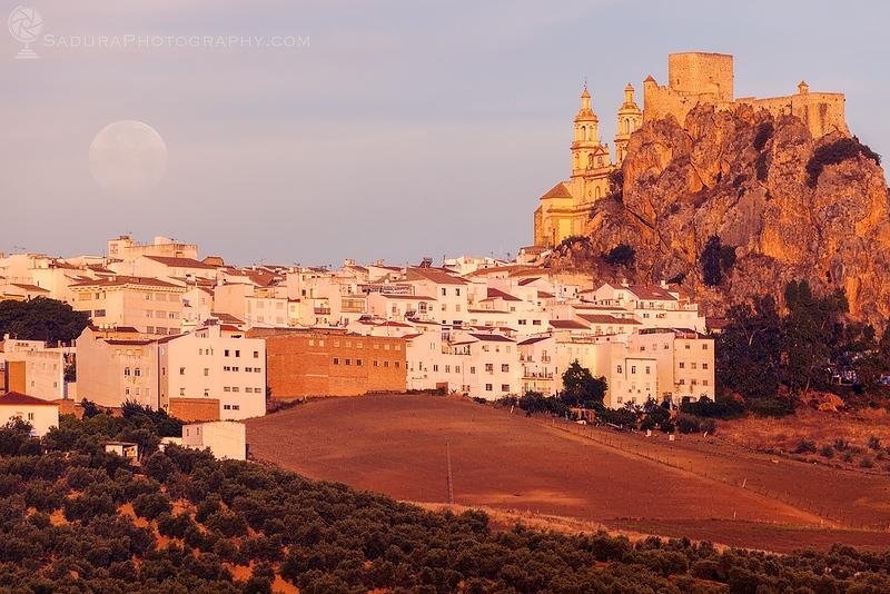 Panorama of Olvera