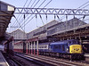 45115 at Crewe with 1G61, the 14:30 Liverpool Lime Street - Birmingham New Street, <br /> on 23rd April 1987. Scanned Transparency.
