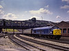 45114 arriving at Bristol Temple Meads with 1S84, the 10:20 Paignton - Glasgow Central, <br /> on 23rd July 1983. Scanned Transparency.