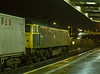 47008 at Didcot with 4M79, the 16:19 Southampton MCT - Lawley Street, <br /> on 5th January 1989. Scanned Transparency.