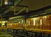 47630 at Paddington with 1B80, the 22:56 Paddington - Swansea TPO, on 23rd April 1992. Scanned Transparency.