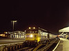 "50032 ""Courageous"" at Basingstoke with 1V17, the 17:10 Waterloo - Exeter St Davids, <br /> on 30th December 1982, Scanned Transparency."