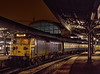 "50007 ""Hercules"" at Paddington, waiting to depart with the 17:36 to Oxford, <br /> on 30th December 1981. Scanned Transparency."