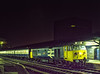 "50022 ""Anson"" at Reading with the Paddington - Penzance TPO, on 25th August 1983. Scanned Transparency."