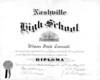 Wilson Connell 1935 Nashville High Graduation