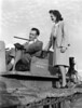 Dickson and Dale Bulldozer - January 1947<br /> <br /> The Atlanta Constitution, January 5, 1947<br /> BUDDIE DICKSON AND MRS. J.W. DALE<br /> P-51 Pilot Now Boss of Bulldozer.