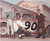 Car owner Wade Lang, Cordelle Futch, builder, and Bo Cole.<br /> Photo by Jamie Connell