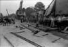Georgia & Florida Railroad derailment in Masses, February 1, 1941.