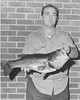 Charles Kent with Fish, February 1967