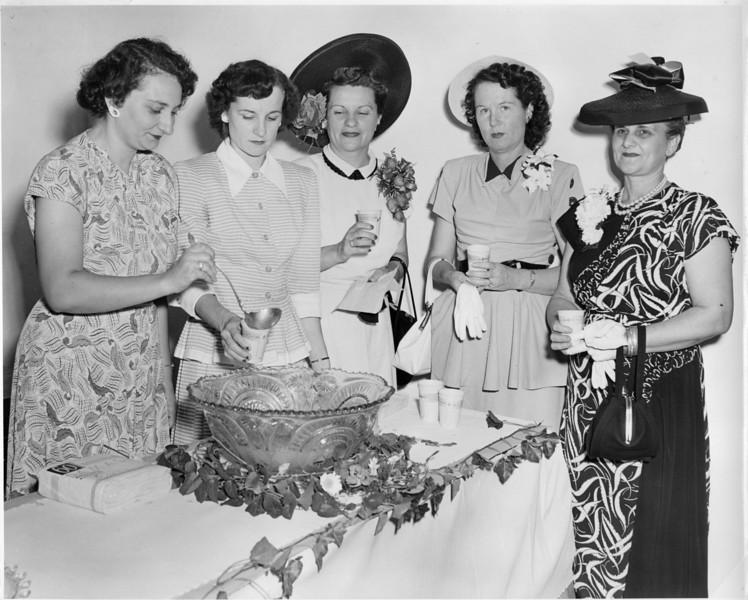 American Legion Auxiliary Ladies, May 1948