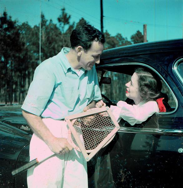 Ruth and Buddy Dickson 1940s