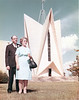 Rev and Mrs Garnie Brand at Norman Park